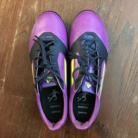 le adidas f50 adizero viola gli scarpini da calcio 75 poshmark